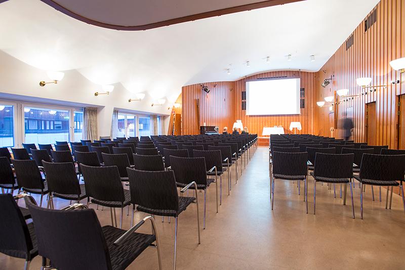 Bygget Fest och Konferens på Norrlandsgatan 11