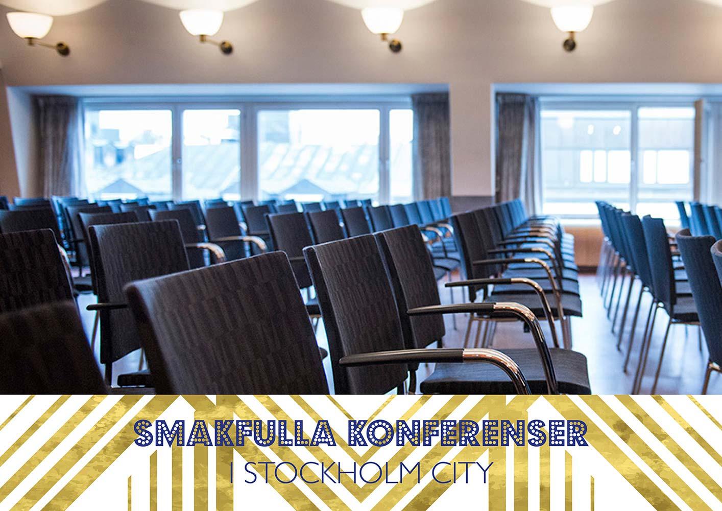 Smakfulla konferenser i stockholm city